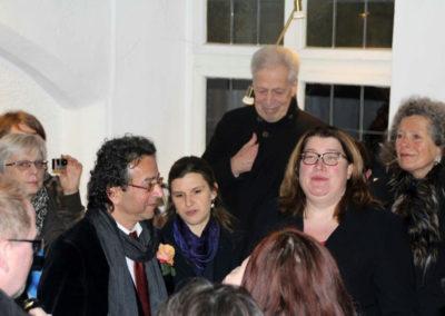 Eröffnung der Kunstausstellung im Arte 15.