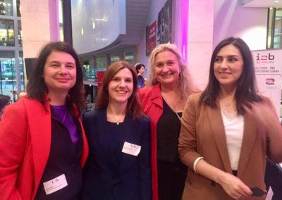 I2B Netzwerk mit  Ulrike Hiller , Christel Fangmann und mehtap Ariöz