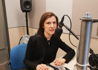 Im Interview  bei Radio Bremen als Kultur-und Friedenspreisträgerin