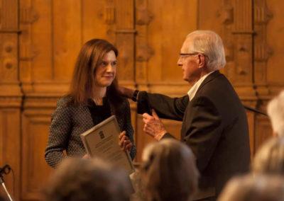 Kultur-und Friedenspreisverleihung mit Dr. Klaus Hübotter.