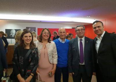 Melodie des Lebens mit der tunesischen Konsularin Sonia Ben Amor Missaoui und meinem Kollegen Abdelaziz Cherif.
