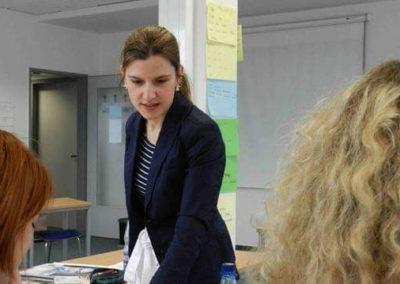 EU Projekt Integration von europäischen Akademikern in den Arbeitsmarkt.